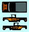 """1//64 /'62 Chevy Truck /""""Flames II/"""" Decal SCR-0221"""