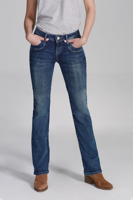 LTB Damen Jeans Valerie Blau Lapis Stiefelcut Slim Blau 5145-3923