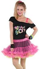 Totally 80's Reversible Skirt Fancy Dress Halloween Up Adult Costume Accessory