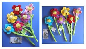Fiori-peluche-smile-margherita-fiore-di-velluto-cm-31-scegli-colori-mazzo