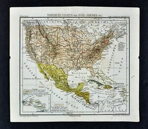 Oklahoma On Map Of United States.1875 Lange Map United States Large Dakota Indian Territory