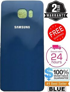 For-Replacement-Samsung-Galaxy-S6-G920-Battery-Back-Door-Glass-Cover-BLUE