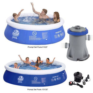 8ft 10ft Prompt Set Inflatable Paddling Swimming Pool