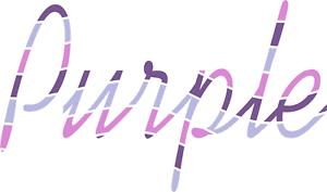 Charmant Violet Acrylique Feuilles Dans Divers Tons De Violet-afficher Le Titre D'origine