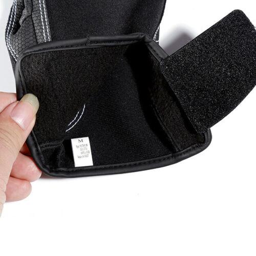 Neoprene Ice Fishing Gloves Warm Anti-slip 2-Cut Fingers Outdoor Black 3 Size