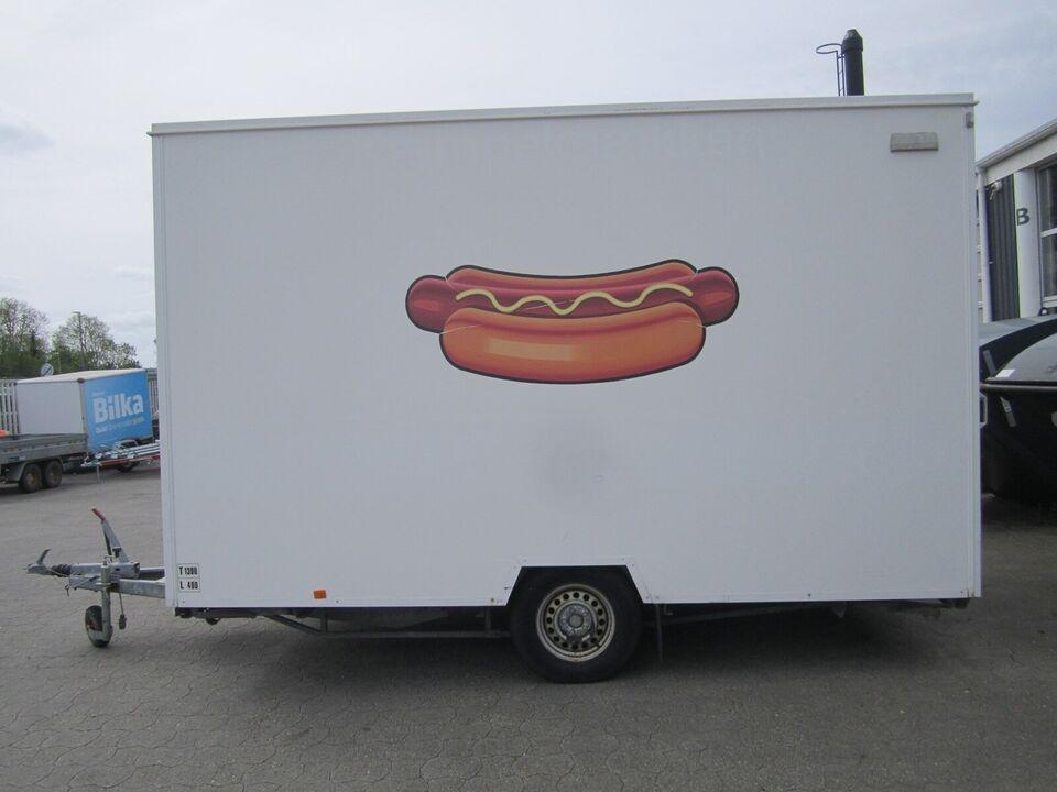 Trailer Selandia De Luxe 388 Pølsevogn, lastevne (kg):
