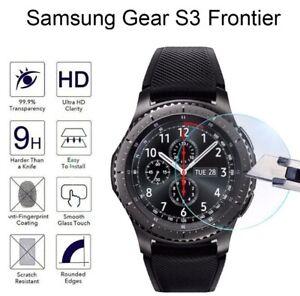 Vitre-Protection-Ecran-Film-Verre-Trempe-Samsung-Gear-S3-frontier-Classic