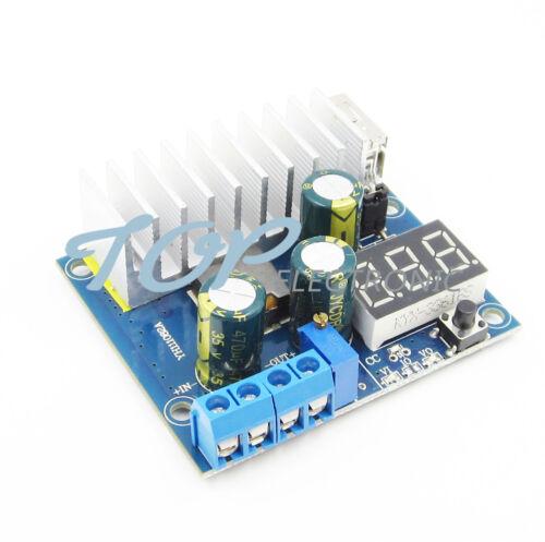DC-DC Converter Adjustable Step-up Module Power Supply 3~35V 6A USB Voltmeter