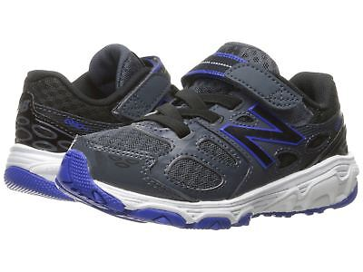 New Balance KA680PTI Black Blue White Toddler Shoes