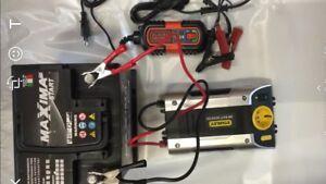 Generatore di corrente 500w silenziato 12v a 220v con for Generatore di corrente lidl