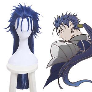 Fate-Stay-Night-FGO-Lancer-Cu-Chulainn-Cosplay-Wig-Long-Straight-Blue-Style-Hair