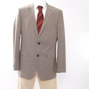 HUGO BOSS Sakko Jacket The James4 Gr.102 beige uni 2-Knopf Super 120's -S2917