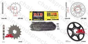 13//52 Sprocket Kit Yamaha TY125 89 428x120 Chain