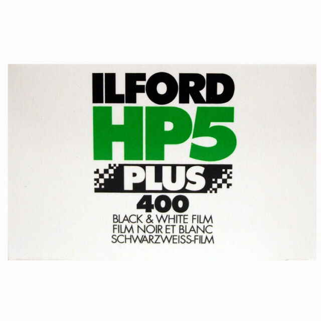 Ilford HP5 PLUS 400 Noir & BLANC FILM 36EXP