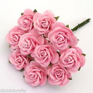 100 pink mulberry paper flower wedding centerpiece rose headpiece image is loading 100 pink mulberry paper flower wedding centerpiece rose mightylinksfo