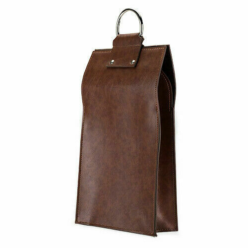 Admiralfaux Leather Double Bottle Brown Wine Tote Viski Multi For Sale Online Ebay