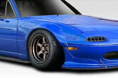 Duraflex Replacement for 1990-1997 Mazda Miata Rocket Wide Body Front Fender Flares