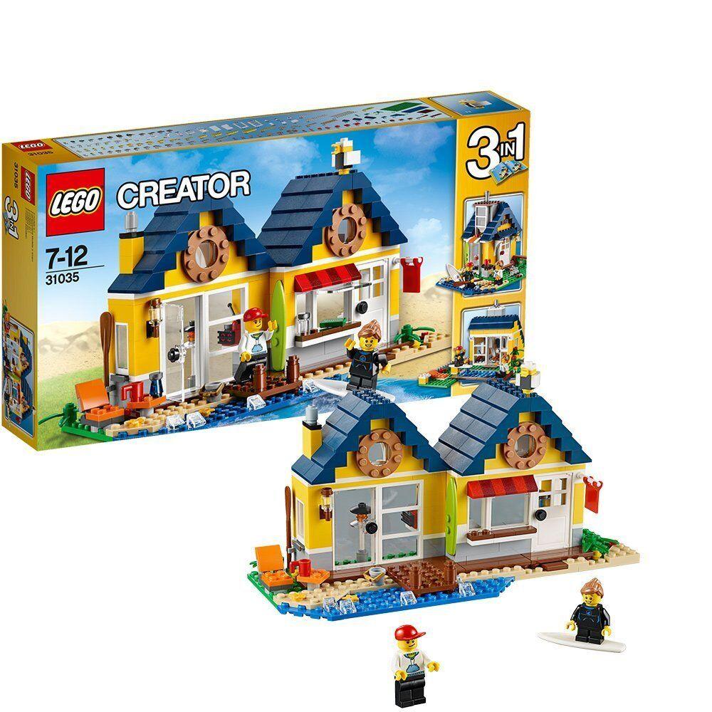 LEGO CREATOR 31035: CABINA DA SPIAGGIA Kids costruzione GIOCO DIVERTENTE REGALO IDEA NUOVO di zecca