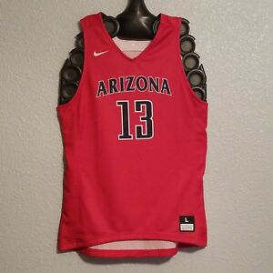 best website a4cd2 4bc01 Details about NCAA - NWT NIKE ARIZONA WILDCATS JERSEY DEANDRE AYTON PHOENIX  SUNS RED - MENS L