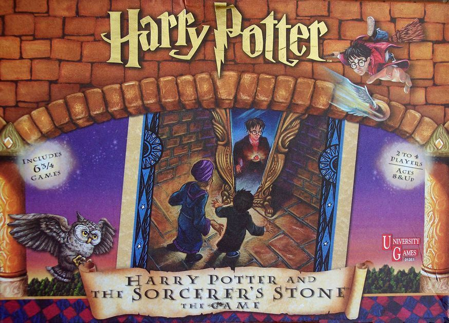University Games Harry Potter and the Sorcerer's Stone Board Game New