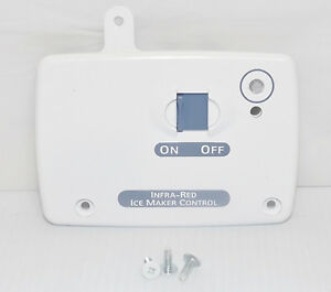 Details about Kenmore Elite Refrigerator : Ice Maker Control Cover (Part#  2255810) {P1749}