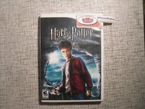 Harry Potter and the Half-Blood Prince Nintendo Wii 2009 Adventure Game