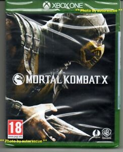 Mortal-KOMBAT-X-034-NUOVO-amp-Sealed-039-XBOX-ONE-1
