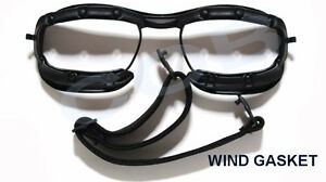 1 KIT PARAVENTO + ELASTICO OAKLEY per occhiali 9171 racing JACKET ... ce778bd73c