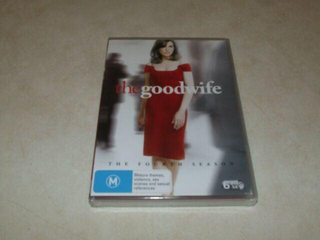 The Good Wife - The Fourth Season - DVD - Region 4 - New