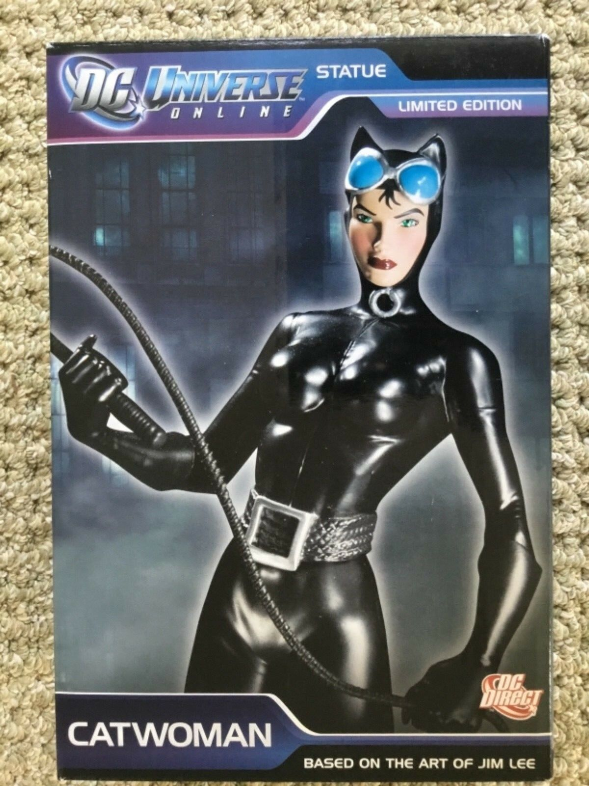 DC Universe Online CATWOMAN Statue LIMITED ED Based on Art of Jim Lee  5000