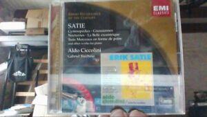 Great-Recordings-Of-The-Century-Satie-Klavierwerke-de-C-CD-d-039-occasion