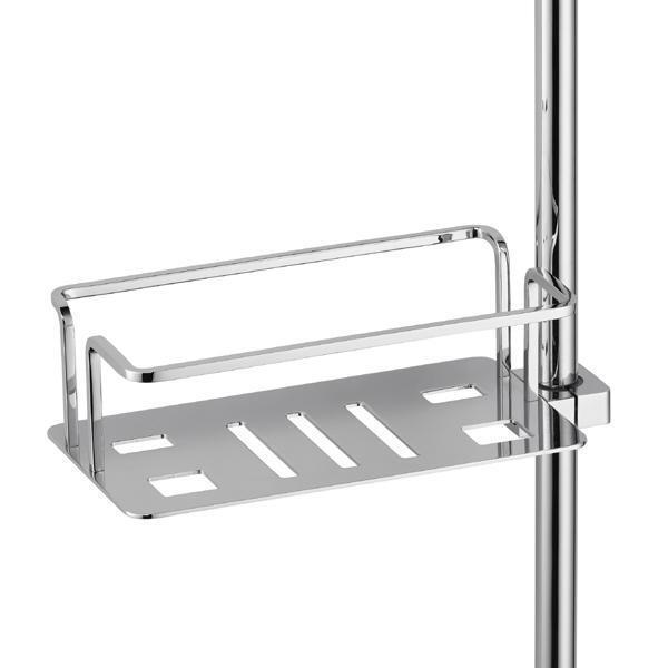 Avenarius panier d'éponge 230x75x110 mm; POUR BARRE DE DOUCHE, série paniers