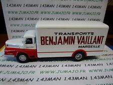 CAMIONS 1/43 altaya IXO MICHEL VAILLANT : Oncle BENJAMIN VAILLANT marseille