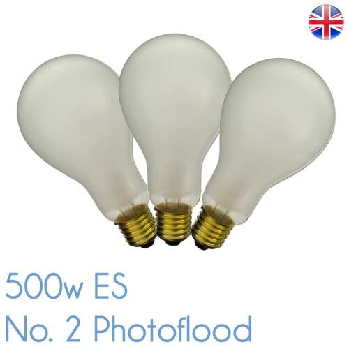 P2//1-ES 500 W 240 V E27 Interfit INT032 PF308E P2//1 ES survoltée satinée Nº 2 500 W INT032