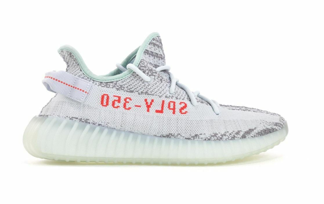 Brand New Yeezy V2 bluee Tints READY TO SHIP SIZE 10.5