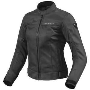 Femmes Noir Eclipse Détails Moto Textile Sur Blouson Revit Touring E2D9HWI