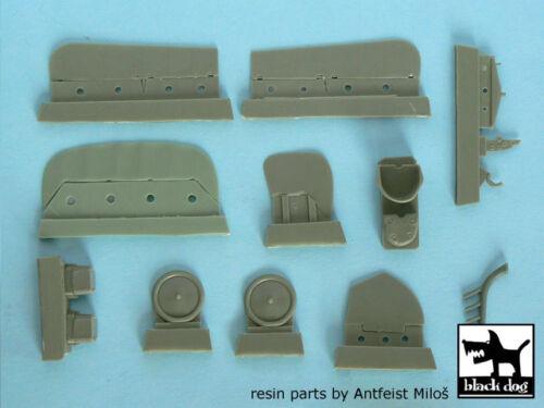 Blackdog Models 1//48 ALBATROS D.I /& ALBATROS D.II WWI Fighters Resin Detail Set
