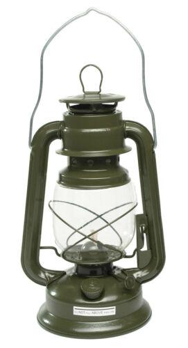 Mil-Tec Tempête Lanterne Camping Lanterne Lanterne Lampe de jardin Olive zinc 28 cm