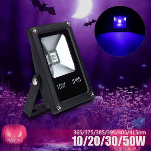 20//30//50W UV LED Outdoor Flood Light Lamp Blacklight Party Club Halloween Decor
