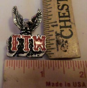 USA Harley motorcycle wing pin collectible old memorabilia biker vest pinback
