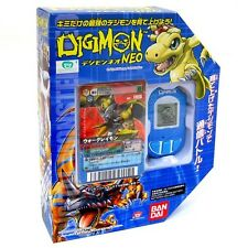 BANDAI DIGIMON BLUE NEO PENDULUM ENGLISH DIGIVICE DATA LINK+LIMIT​ED CARD RARE
