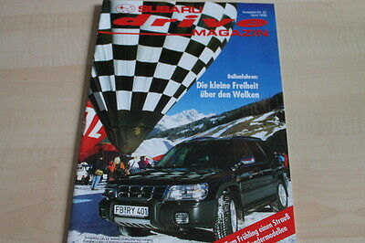 Ausdrucksvoll 124763 Subaru Drive Magazin 04/1998 Grade Produkte Nach QualitäT