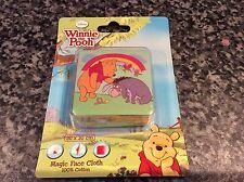 BNIB New Sealed Disney Winnie the Pooh & Eeyore Magic Towel Facecloth Flannel