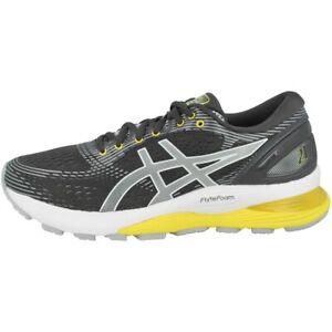 Dettagli su Asics Gel Nimbus 21 Donne Scarpe da Corsa Running Sneaker Grey 1012a156 021