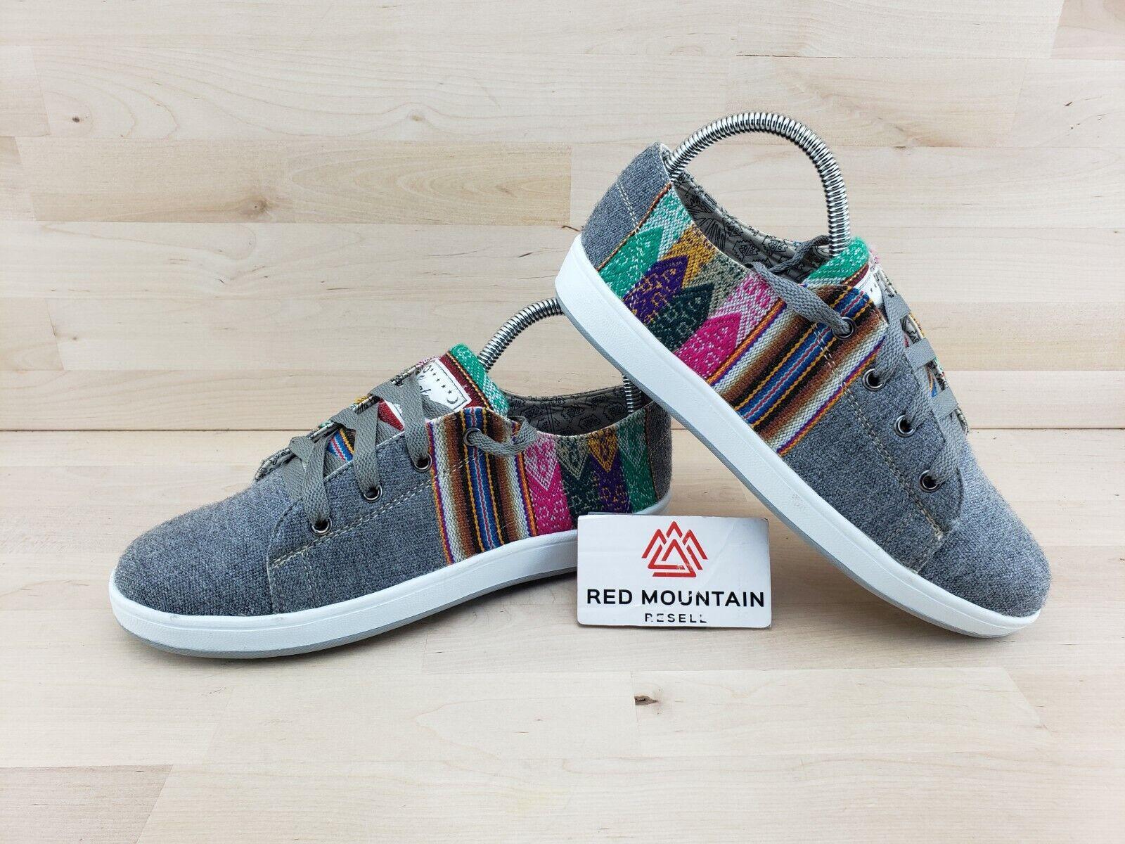 Katay's Fair Trade Peruvian Sneakers Authentic Textiles - Women's Size 9.5 - 10