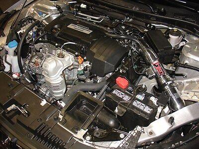 Injen SP Black Cold Air Short Ram Intake Kit for 2013-2017 Honda Accord 2.4L