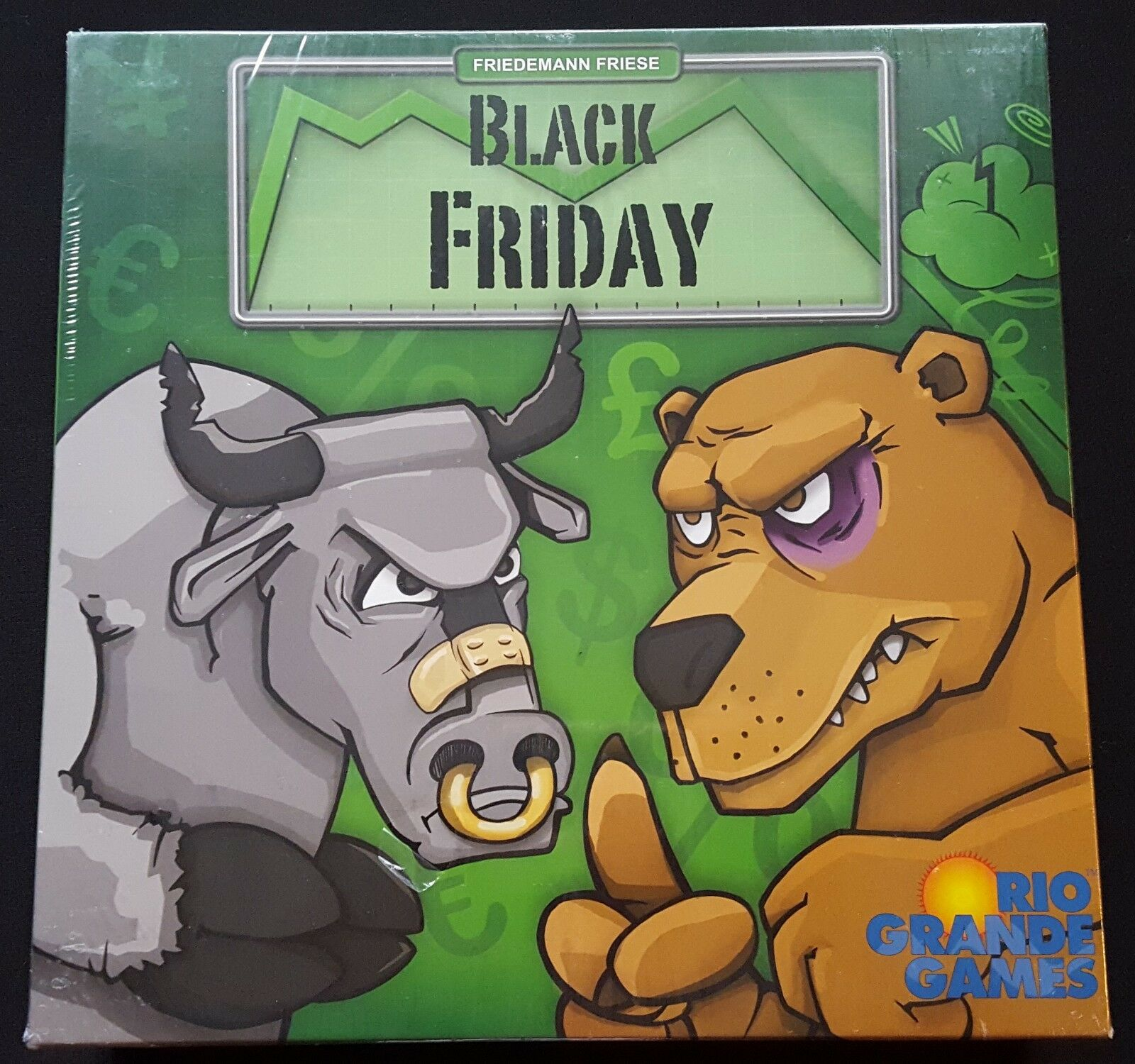 schwarz FRIDAY Vintage Board Game By KOSMOS From 2010 Made In Germany - NEW