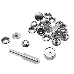 Details about SNAP FASTENER REPAIR KIT EMERGENCY BOAT COVER CANVAS 42 PIECE  KIT SHIPS FREE!