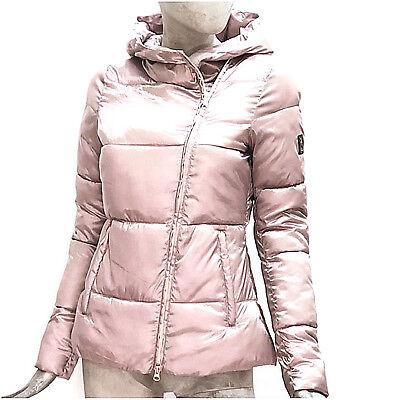 Refrigue da Donna Strala Giubbotto Cappotto Corto Giacca Rosa Imbottito Inverno | eBay