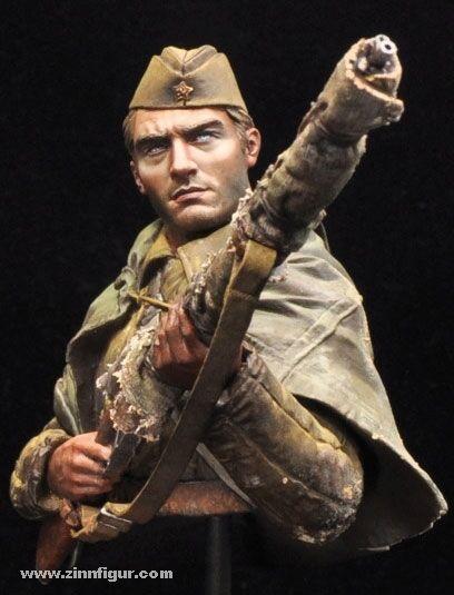 Alexandros Models Russian Sniper Stalingrad Bust 1 10th Unpainted Kit